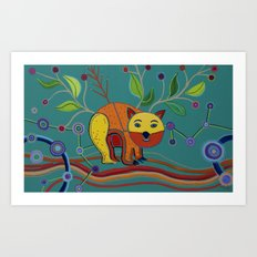 DNSW Series: Patrick the Wombat Art Print