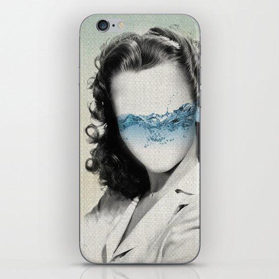 the glass half full iPhone & iPod Skin