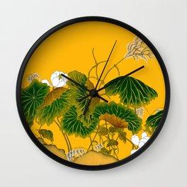 Lotus world Wall Clock