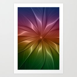 The Life of Colors Art Print