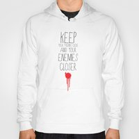 godfather Hoodies featuring GODFATHER QUOTE by Bianca Lopomo
