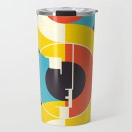 Bauhaus Exhibition Art 3 Travel Mug