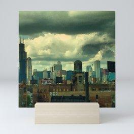 The Water Tower Mini Art Print