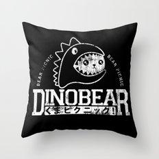 Vintage Dinobear Throw Pillow