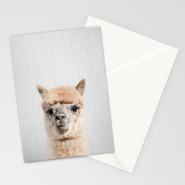 Alpaca - Colorful Stationery Cards