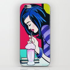 Crying Into Her Milkshake iPhone & iPod Skin
