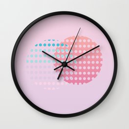 Holographic dream Wall Clock