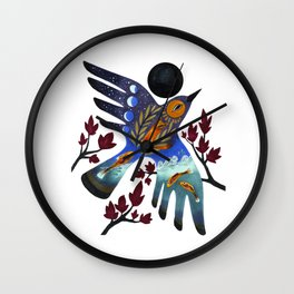 Life Cycles Wall Clock