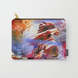 M. Jordan Painted Carry-All Pouch