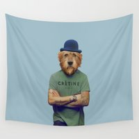polaroid Wall Tapestries featuring Polaroid n°41 by Mrs. Pepper Designs