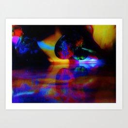 ROBERT GRUENBERG ORIGINAL/2014 Art Print