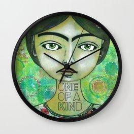 Little Frida Wall Clock
