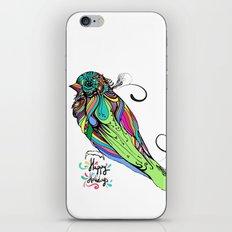 Colorful Bird iPhone & iPod Skin