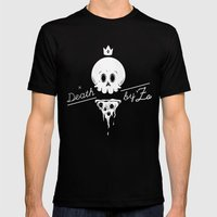 Death by 'Za MEDIUM Black Mens Fitted Tee