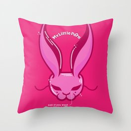 I'm your man Throw Pillow
