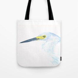 Green Eyed Heron Tote Bag
