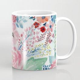 Pretty watercolor hand paint floral artwork. Coffee Mug