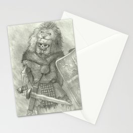 Zombie Roman Legionnaire Stationery Cards