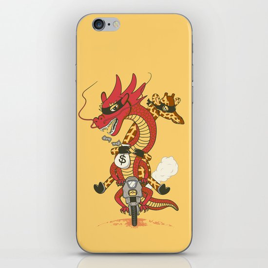 Unusual Partners In Crime iPhone & iPod Skin