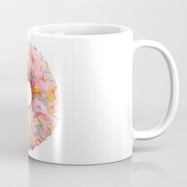 Single pink donut Coffee Mug