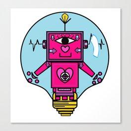smart robot Canvas Print