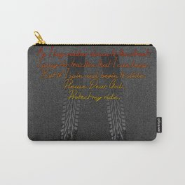 Racers Prayer Carry-All Pouch