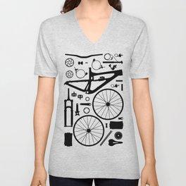 Enduro Mountain Bike Unisex V-Neck