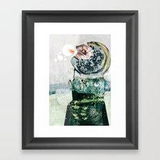 vitriol 3 Framed Art Print