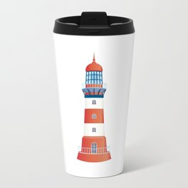 nautical lighthouse Travel Mug