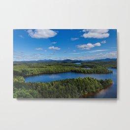 Fish Creek Pond Metal Print