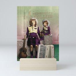 The Country Collies Mini Art Print