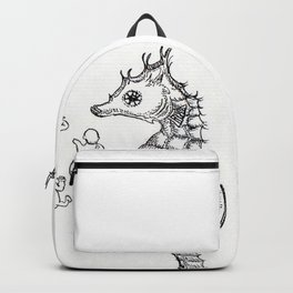 Sea horse Backpack