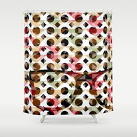 glasses Shower Curtains featuring Glasses by Mr and Mrs Quirynen