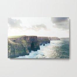 Cliffs of Moher Metal Print