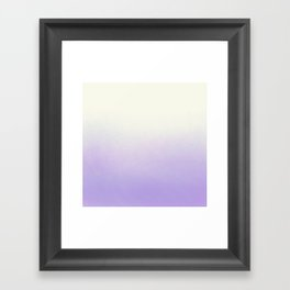 Excuse me while I kiss the sky  Framed Art Print