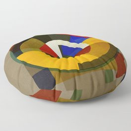 Abstract Deco ONE Floor Pillow