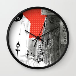 I love Belgrade Wall Clock