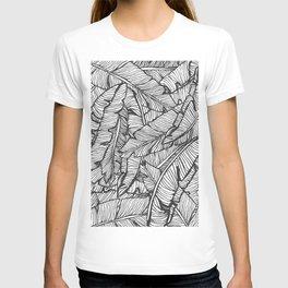 Black & White Jungle #society6 #decor #buyart T-shirt