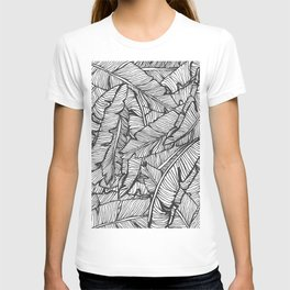 Black & White Jungle #society6 #decor #buyart T-shirt