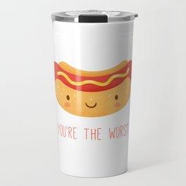 You're the Wurst Travel Mug