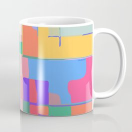 Colorful  Summer Abstract Coffee Mug