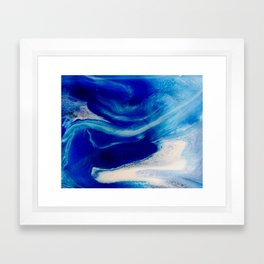 Blue Inlet Framed Art Print