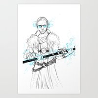 justice Art Prints featuring Justice by Kay Gauthier