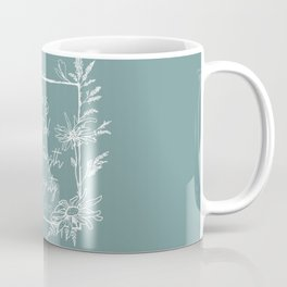 She Is Clothed Wildflower Frame Bible Verse Coffee Mug