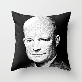 President Dwight Eisenhower Graphic Throw Pillow
