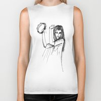 gypsy Biker Tanks featuring Gypsy by Audrey Parrill