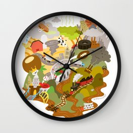Ohio Love! Wall Clock