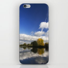 Autumn on the River Thames iPhone Skin