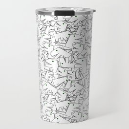 Line art - Crocodile Travel Mug