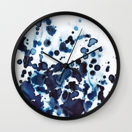 Large waves and sea spray. Wall Clock